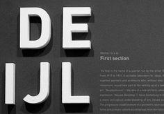 3-d #typography