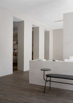 "simply–aesthetic: ""Norm Architects creates minimalist workspace for Kinfolk magazine in Copenhagen """