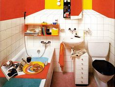 Retro and Pop Art Interior Design Idea #retro