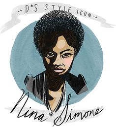 Nina Simone - DesignSponge Libby VanderPloeg