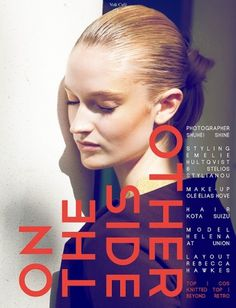 On the other side   Volt Café   by Volt Magazine #beauty #design #graphic #volt #photography #art #fashion #layout #magazine #typography