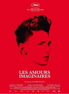 Les Amours imaginaires de Xavier Dolan (2009) : les affiches #porster #amours #dolan #print #xavier #imaginaires
