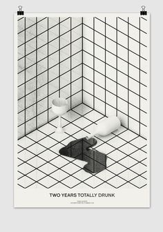 Totally Drunk - Timo Lenzen - Graphic Design #graphic #poster