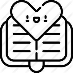 See more icon inspiration related to love and romance, files and folders, diary, heart, love, notebook and agenda on Flaticon.