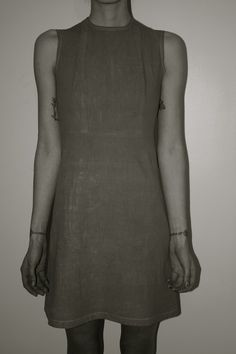 Rabbit Spine Dress (front) | Freya Edmondosn #girl #design #tattoo #fashion #dress