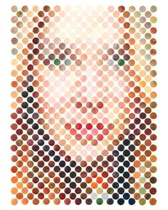 Nathan Manire | PICDIT #design #portrait #painting #art #circle