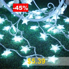 ZDM #Star #String #Lights #3AA #Battery #powered #Multicolor #Warm #White #LED #Lamp #string #Indoor #Fairy #Lights