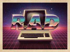 RAD - Retro Illustration