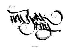 602fc2590ec2cc340d1322e98a0a8cb9.jpg (JPEG Image, 600×424 pixels) #calligraphy #hand #written #typography