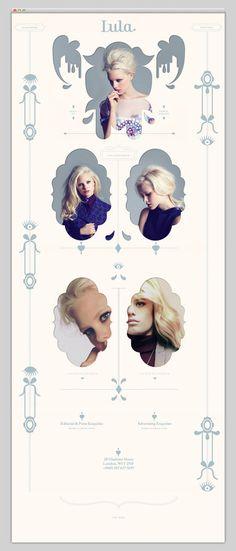 Lula Magazine #design #website #fashion #layout #web