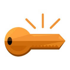 See more icon inspiration related to key, password, access, pass, security, passkey, Tools and utensils and door key on Flaticon.