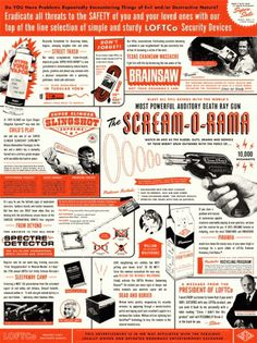 Scream-O-Rama / Part 1 of 3: The Poster | Cast Iron Design Company #poster