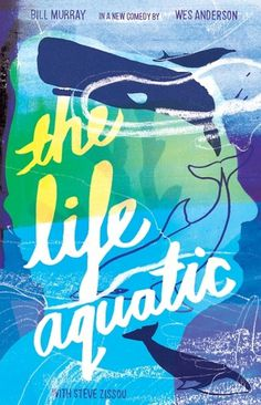 The Life Aquatic | Holly Wales | Illustrator & Educator | felt tip marker pen collage handmade colour illustration #illustration #design #graphic #poster