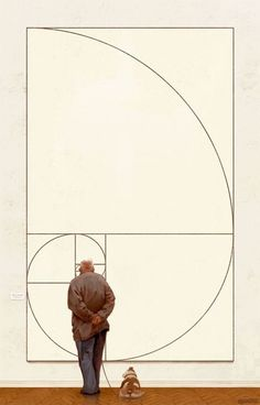 The Golden Ratio by Michal Urbanski #golden ratio #design #art