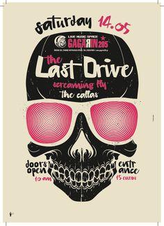 Last Drive / Silkscreen Poster on Behance