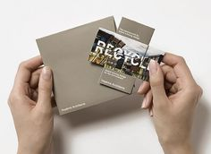 Radford Wallis - Design #recycle #renew #interactive #reuse #design #reduce #typography