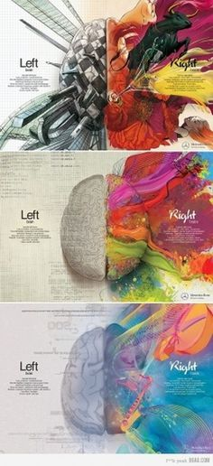 9GAG - Left Brain - Right Brain #mind