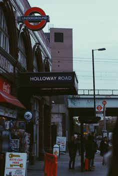 London, Holloway Road #underground #britain #london #road #holloway #great