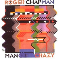 Barney Bubbles front cover for ManGoCrazy, Roger Chapman 1983.   Flickr - Photo Sharing! #packaging #bubbles #barney #art