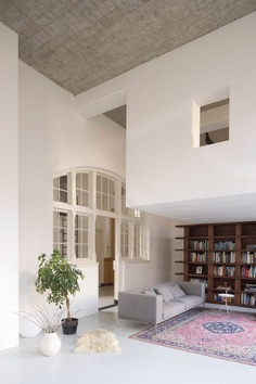 Eklund Terbeek Architecten Designs a Spacious Apartment in a Former School 1