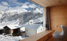 desire to inspire desiretoinspire.net Zumthor Ferienhäuser #mountain #retreat