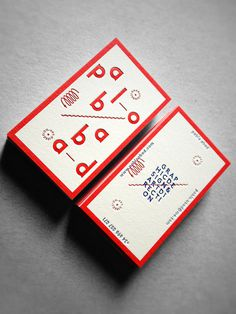 #business #card #design #typography