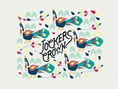 Jokers Crown | London on the Behance Network #crown #pattern #clothes #africa #joker