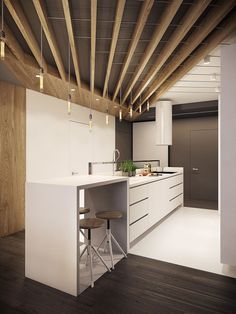 Modern Kitchen °1 - Apartment °1 #modern #kitchen #cucina #moderna #appartamento #moderno