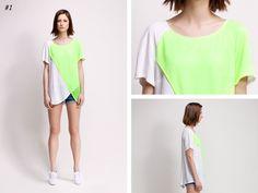 asu aksu / collections / ss2012 borderline no 1 #asu #white #collection #aksu #borderline #summer #fashion #neon