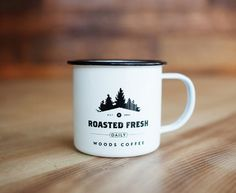 Woods Coffee Packaging Design