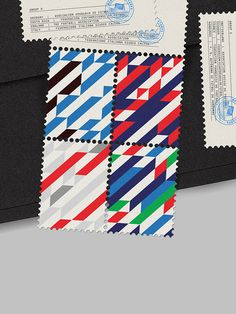 MAAN Design Studio - World Cup Stamps 2014 #stamps #world #maan #soccer #football #cup