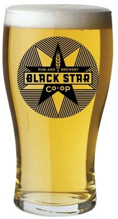 Twinkle, Twinkle Black Star - Brand New #beer #branding #glass #identity #star #logo