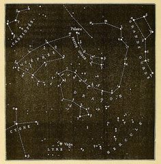 Star Map #vintage