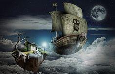 El Ultimo Puerto on the Behance Network #photo #illustration #manipulation