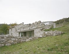 Melgaco House – a Small Rural Stone Building Converted into Cozy Home