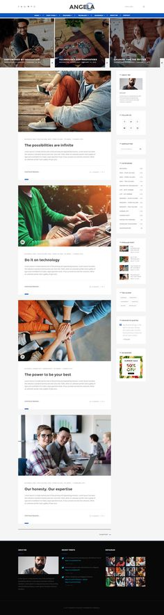 Paperio - Responsive and Multipurpose WordPress Blog Theme - Angela, buy - https://goo.gl/kJeBM0