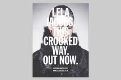 crooked-1.jpg 800×533 pixels #print #design #graphic #typography