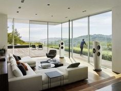 living room / EYRC Architects