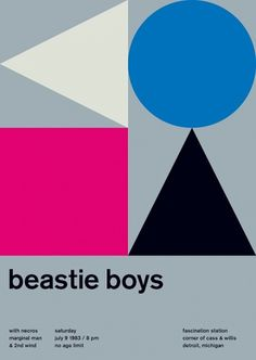 beastie boys at fascination station, 1983 - swissted