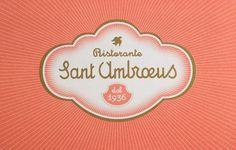 "Mucca | Work | Sant AmbrÅ""us #logo"