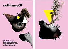 International Festival of Experimental Dance and Performance #design #illustration