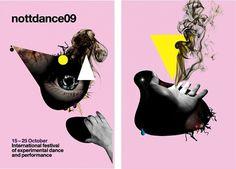 International Festival of Experimental Dance and Performance #design #illustration