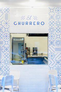 el churrero, tiles, branding