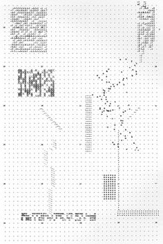 plagiarismisnecessary: Archizoom No-Stop City (1969) The plans for Archizoom 's 1969 No-Stop City were typed out on a typewriter. Th #urban