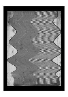 """3.8"" - Art Works by Tuscani Cardoso #art #landscape #black and white #scan #illusion #psychedelic #op #tuscani cardoso"
