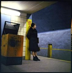 New York in Color - in pictures | Art and design | The Observer #ignorance #60s #woman #elderly #subway #photography #vintage