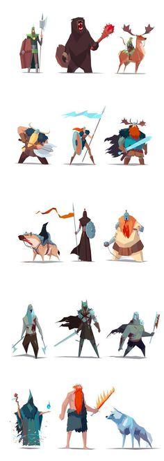 characters #abstract #stylish #cartoon #character