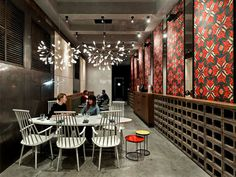 Holy Fox Restaurant in Moscow holy fox restaurant 5 #retail #design #decor #restaurant