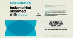 Creative Review - When Sainsbury's was out on its own #packaging #branding