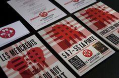 LE POURVOYEUR : Sébastien Bisson #business #branding #card #print #pourvoyeur #le
